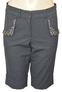 Robert Rodriguez Cuffed Shorts GRAY