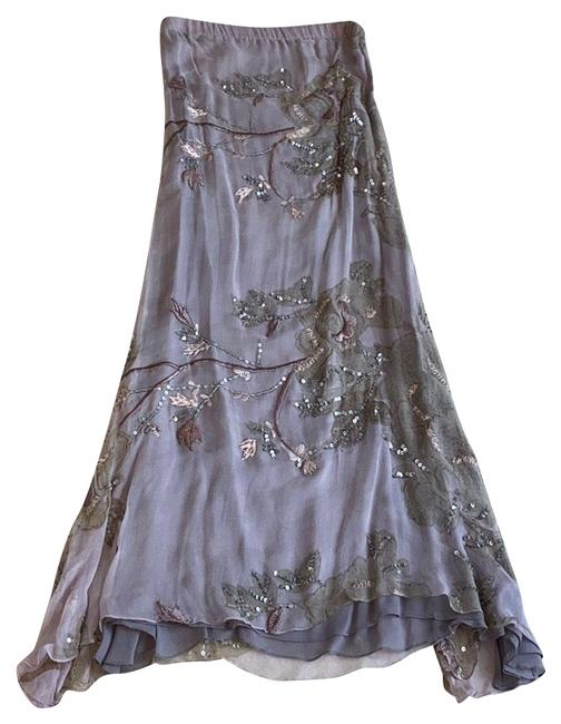 Item - Lavender Strapless Beaded Mid-length Night Out Dress Size 6 (S)