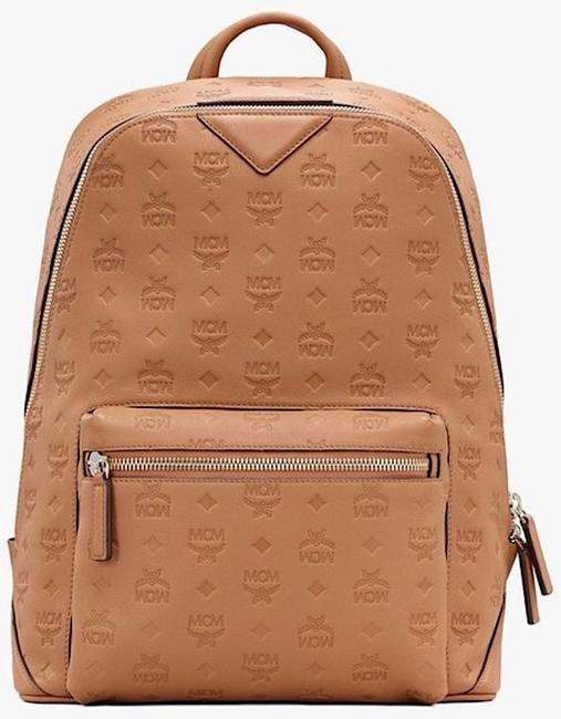 Item - Klara New Unisex Neo Duke In Monogram Leather Brown Cognac Canvas Backpack