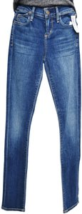 Citizens of Humanity Mid-rise Low-rise Skinny Jeans-Medium Wash