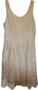 J.Crew short dress Cream on Tradesy