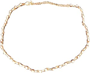 Charming Charlie Rose Gold and Crystal Necklace