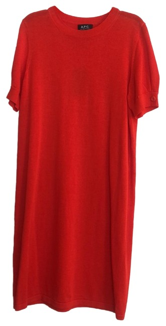 Item - Coral Coccb-fo5545 Mid-length Short Casual Dress Size 12 (L)