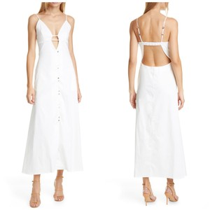 IVORY Maxi Dress by Cult Gaia Cotton