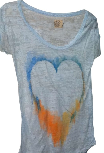 Preload https://img-static.tradesy.com/item/273589/american-eagle-outfitters-light-blue-vintage-tee-shirt-size-4-s-0-0-650-650.jpg