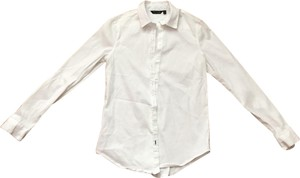 Massimo Dutti Button Down Shirt white