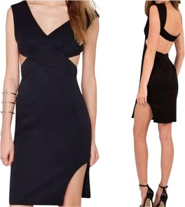 Finders Keepers short dress Black Mini Cocktail Party on Tradesy