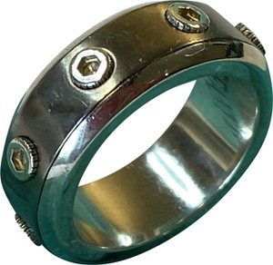 Tiffany & Co. Tiffany Paloma Picasso Turbo TI Titanium Band Sterling Silver Size 6
