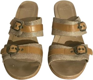 Dansko Tan Brown Sandals