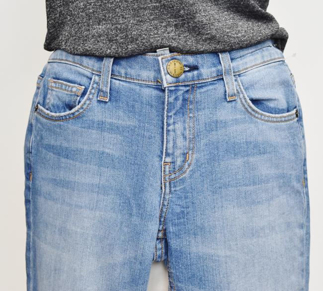 Current/Elliott Blue Light Wash Current/Elliott Cropped Straight Relaxed Fit Jeans Size 25 (2, XS) Current/Elliott Blue Light Wash Current/Elliott Cropped Straight Relaxed Fit Jeans Size 25 (2, XS) Image 3