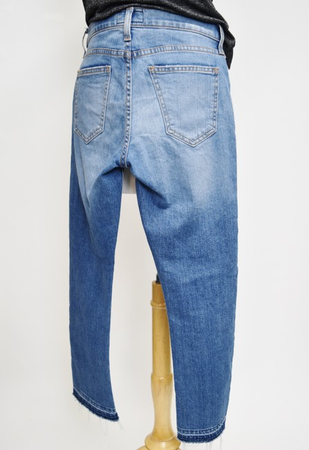 Current/Elliott Blue Light Wash Current/Elliott Cropped Straight Relaxed Fit Jeans Size 25 (2, XS) Current/Elliott Blue Light Wash Current/Elliott Cropped Straight Relaxed Fit Jeans Size 25 (2, XS) Image 6