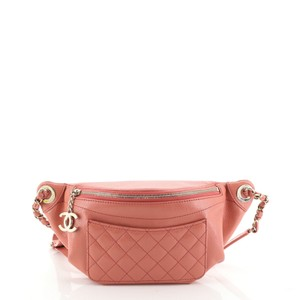 Chanel Waist Leather Cross Body Bag