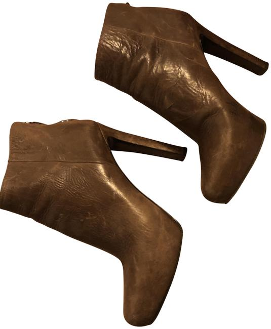 Item - Brown Distressed Leather Boots/Booties Size EU 39 (Approx. US 9) Regular (M, B)