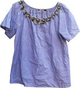 Antik Batik Top Blue