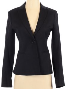 Theory THEORY Andy Stretch Cotton One Button Blazer