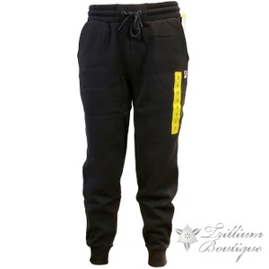 Fila Casual Comfortable Winter Fall Summer Athletic Pants Black