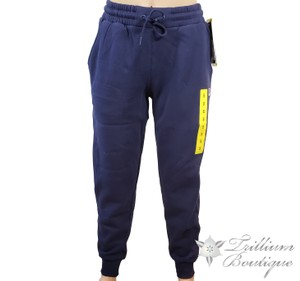 Fila Casual Comfortable Winter Fall Summer Athletic Pants Navy