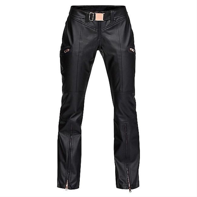 Item - Black Ua Lv Lindsey Vonn Santa Caterina Leather Like Skii Pants S Nwt. Activewear Sportswear Size 4 (S)