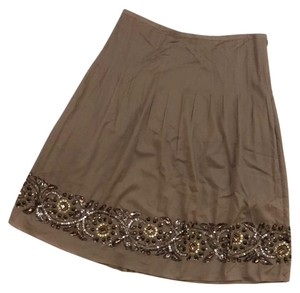 Magaschoni Skirt Taupe