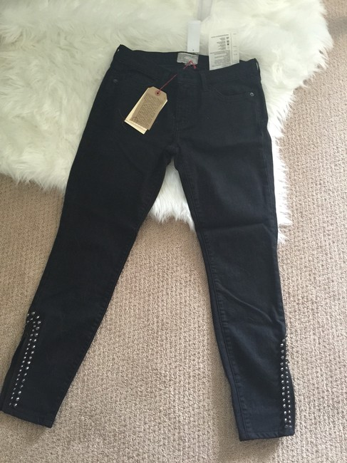 Current/Elliott Skinny Jeans-Dark Rinse