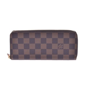 Louis Vuitton Louis Vuitton Damier Porto Fouille Clemence Rose Ballerine N41626 Ladies Wallet