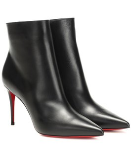 Christian Louboutin Leather So Kate Black Boots