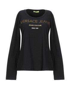 Versace Jeans Collection T-shirt Designer T Shirt BLACK