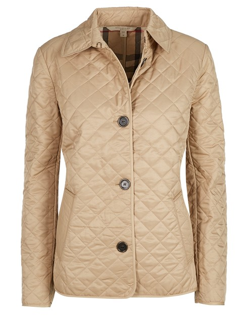 Item - Beige Quilted Classic #51497 Jacket Size 16 (XL, Plus 0x)