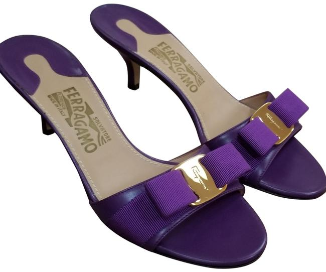 Item - Purple Kitten Sandals Size US 6.5 Regular (M, B)