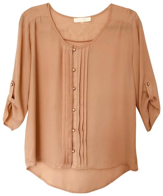 Item - Nude Blouse Size 8 (M)