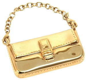 Fendi F is Fendi Pico Baugette Bag Motif Gold Bag Charm Jewery Collectors