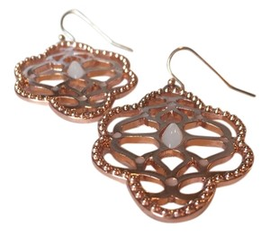 Other Rose Gold Necklace & Earring Set