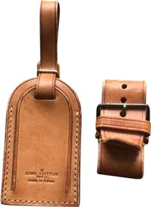 Louis Vuitton Louis Vuitton Large Luggage Tag with belt #201