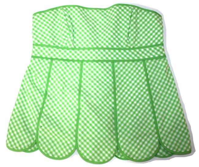 Item - Green Strapless New With Tank Top/Cami Size 2 (XS)