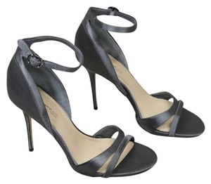 Imagine by Vince Camuto Satin Gray Sandals