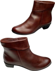 Ecco Brown Red Boots
