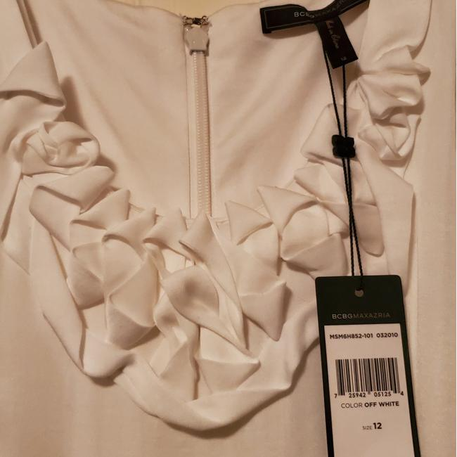 Item - Off White Msm6h852-101 032010 Short Casual Dress Size 12 (L)