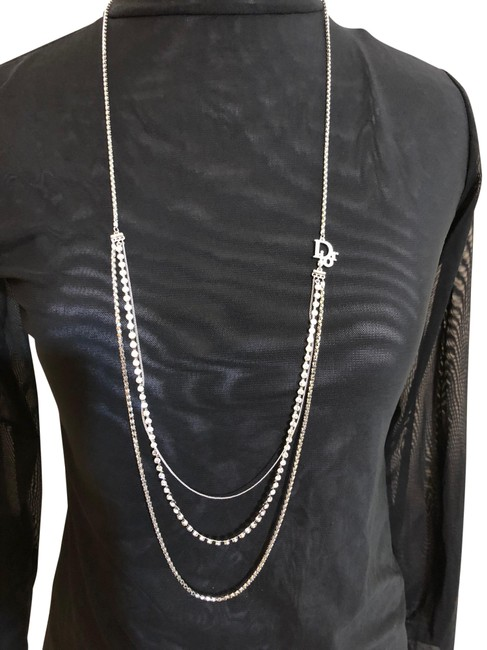 Item - Silver Long Necklace