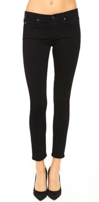 Item - Black The Lux Super Ankle Leggings Skinny Jeans Size 2 (XS, 26)