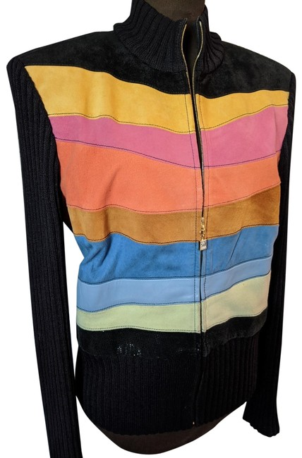 Item - Multi-color Color Block Activewear Size 8 (M)