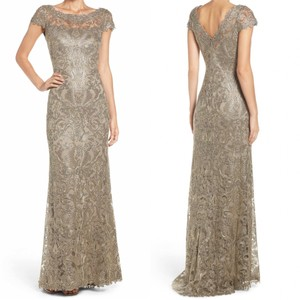 Tadashi Shoji Wedding Weddingguest Gown Embroidered Dress