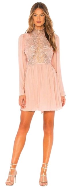 Item - Rose Divine Mini In Short Cocktail Dress Size 4 (S)