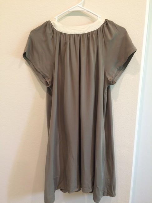 Korean short dress Khaki, Earth, Green Maternity on Tradesy