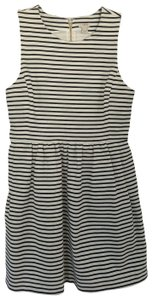 J.Crew short dress WHITE BLACK on Tradesy