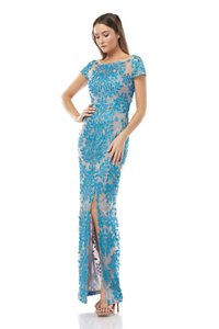 JS Collections Embroidered Dress