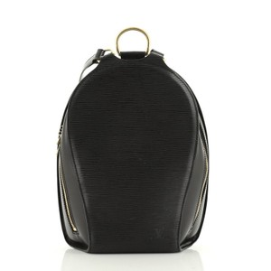 Louis Vuitton Leather Backpack