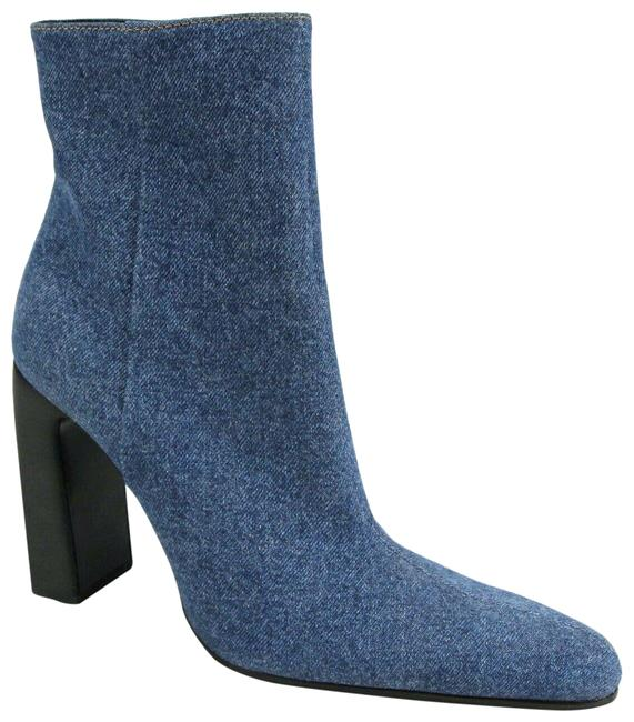 Item - Blue Denim Pointed Toe Zipper Ankle 40.5/Us 544235 4307 Boots/Booties Size US 10.5 Regular (M, B)