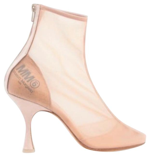 Item - Beige Toe Shaped Ankle Boots/Booties Size US 6 Regular (M, B)