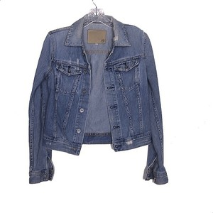 AG Adriano Goldschmied Jean Chic Trendy Casual Cute Womens Jean Jacket