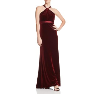 red Maxi Dress by Aidan Mattox